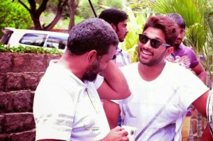 Allu Arjun - Sukumar Shortfilm Working Stills (2) @andhra365
