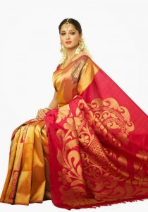 Actress Anushka Shetty Latest Cute Hot Exclusive Bridal Saree Spicy Photos Gallery (8)