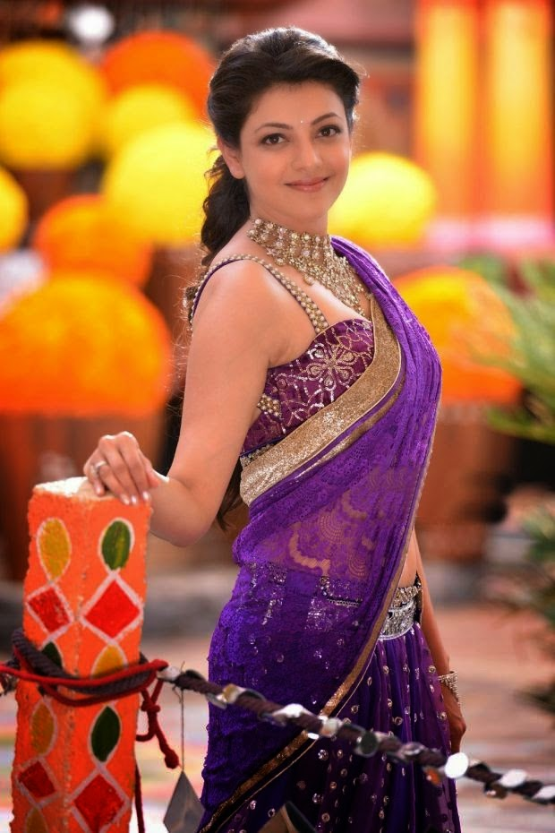 Actress Kajal Agarwal Latest Cute Hot Exclusive Spicy Photoshoot Gallery From Govindudu Andarivadele (11)