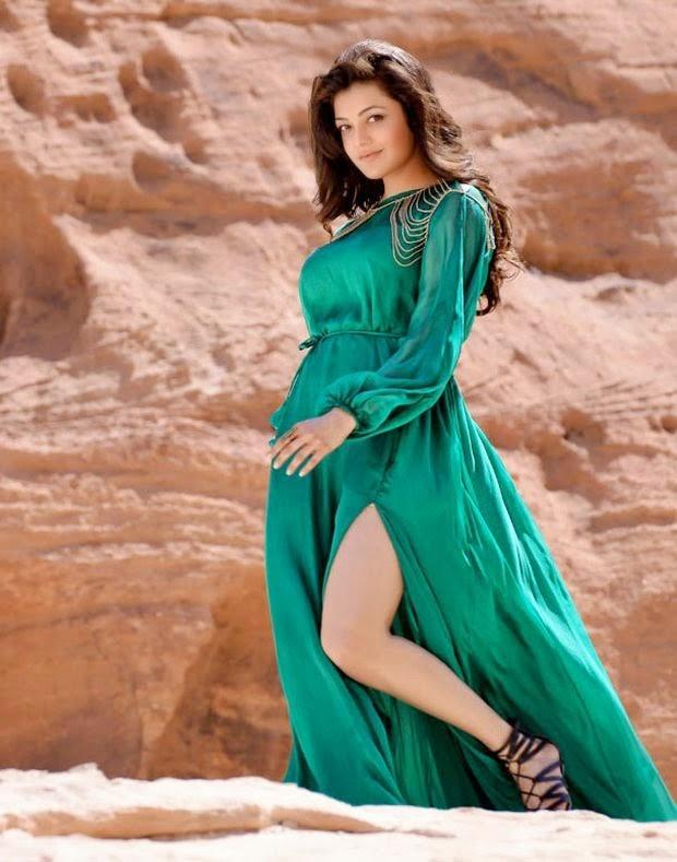 Actress Kajal Agarwal Latest Cute Hot Exclusive Spicy Photoshoot Gallery From Govindudu Andarivadele (9)
