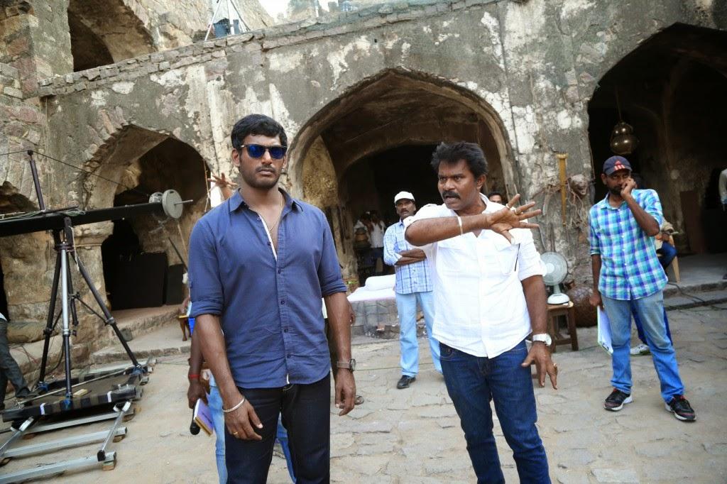 Poojai Tamil Movie Latest Shooting Spot Photos Gallery (1)