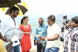 Poojai Tamil Movie Latest Shooting Spot Photos Gallery (12)
