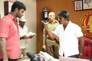 Poojai Tamil Movie Latest Shooting Spot Photos Gallery (16)