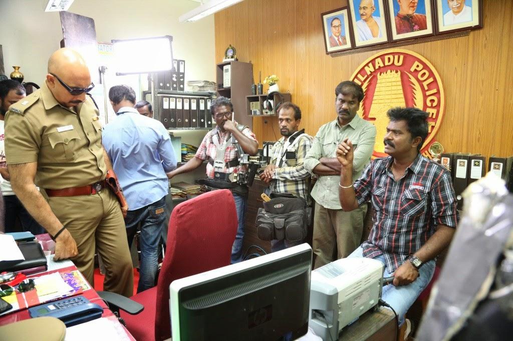 Poojai Tamil Movie Latest Shooting Spot Photos Gallery (18)