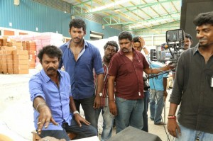 Poojai Tamil Movie Latest Shooting Spot Photos Gallery (21)
