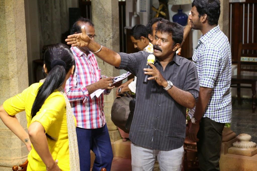 Poojai Tamil Movie Latest Shooting Spot Photos Gallery (25)