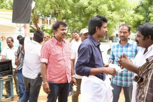 Poojai Tamil Movie Latest Shooting Spot Photos Gallery (3)
