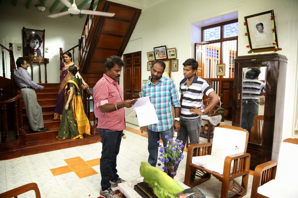 Poojai Tamil Movie Latest Shooting Spot Photos Gallery (4)