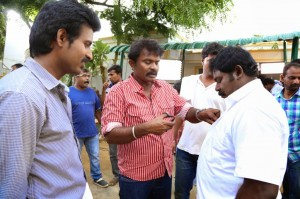 Poojai Tamil Movie Latest Shooting Spot Photos Gallery (6)
