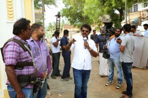 Poojai Tamil Movie Latest Shooting Spot Photos Gallery (7)