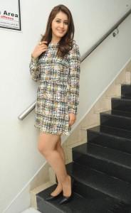 Rashi Khanna Latest Hot Photos at Joru Press Meet