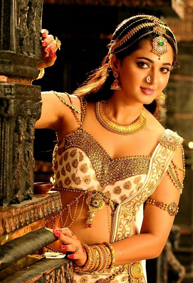 ANUSHKA New Look From Rudhramadevi