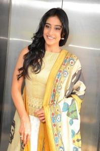 Actress Regina Cassandra Latest Cute Hot Exclusive Beautiful Yellow Dress Spicy Photos Gallery At Subramanyam For Sale Telugu Movie Press Meet (1)