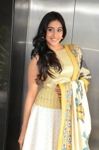 Actress Regina Cassandra Latest Cute Hot Exclusive Beautiful Yellow Dress Spicy Photos Gallery At Subramanyam For Sale Telugu Movie Press Meet (12)