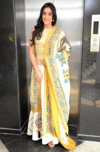 Actress Regina Cassandra Latest Cute Hot Exclusive Beautiful Yellow Dress Spicy Photos Gallery At Subramanyam For Sale Telugu Movie Press Meet (3)