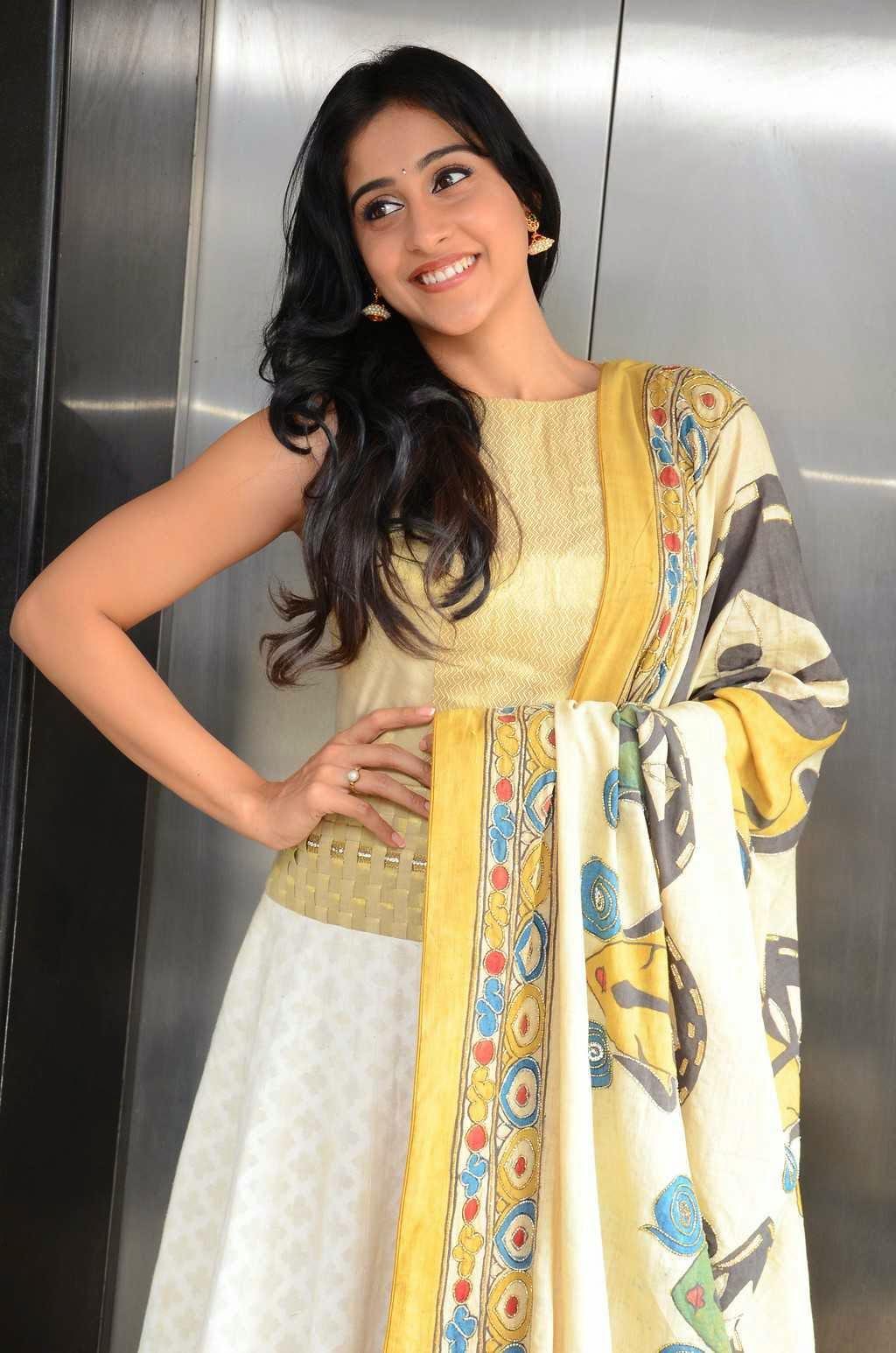 Actress Regina Cassandra Latest Cute Hot Exclusive Beautiful Yellow Dress Spicy Photos Gallery At Subramanyam For Sale Telugu Movie Press Meet (5)