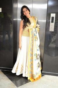 Actress Regina Cassandra Latest Cute Hot Exclusive Beautiful Yellow Dress Spicy Photos Gallery At Subramanyam For Sale Telugu Movie Press Meet (9)