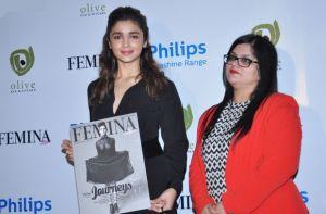 Alia Bhatt new photos at launch of Femina Magazine