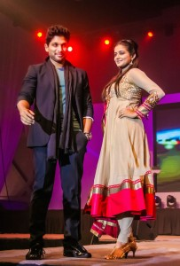 Tollywood stars Ramp Walk Stills at Memu Saitham