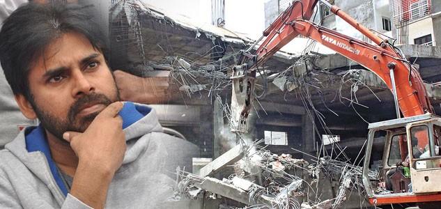Pawan Kalyan's house demolished?