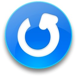 rounded_blue_refresh_button_4808