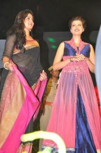 Anushka, Hamsanandini at Rudhramadevi Audio Launch (11)
