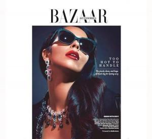 Mallika Sherawat poses for Harper Bazaar (2)