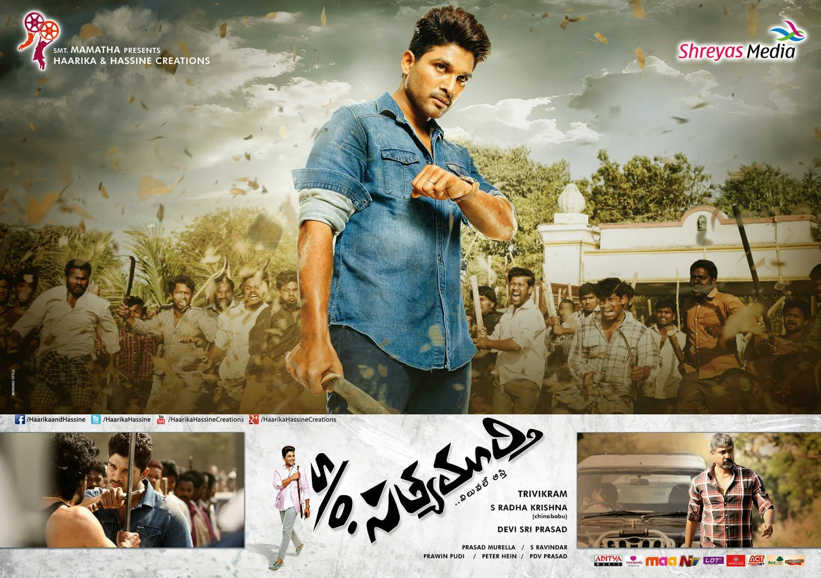 Son Of Satyamurthy Movie Release Photo Cards (6)