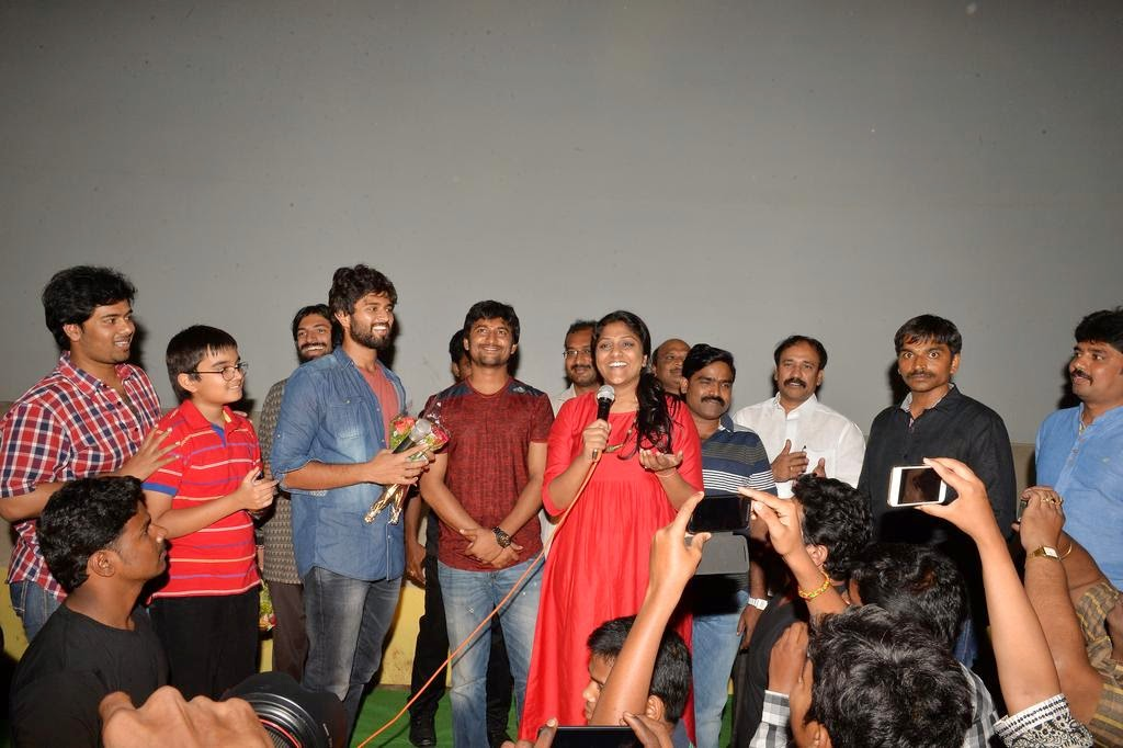 Yevade Subramanyam Success Tour In Vijayawada (3)