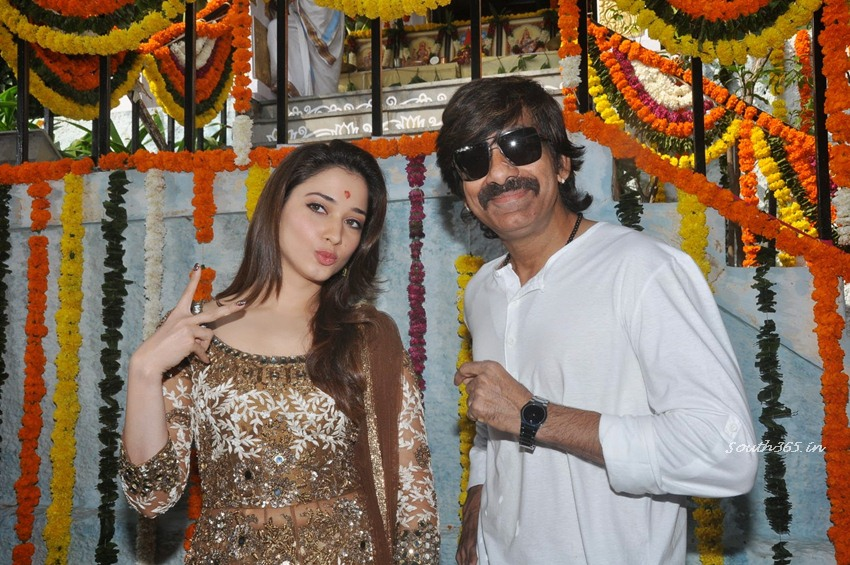 Tamanna-Bhatia-Ravi-Teja-At-Bengal-Tiger-Movie-Opening-Ceremony