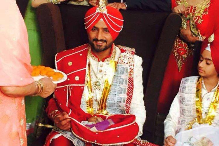 wedding-harbhajan